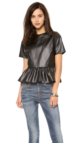 Elkin Jilly Peplum Top