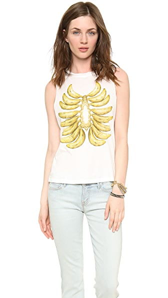 Elkin Langley Fox Banana Rib Cage Muscle Tank