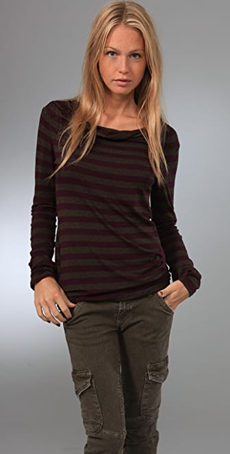 Ella Moss Striped Avedon Top