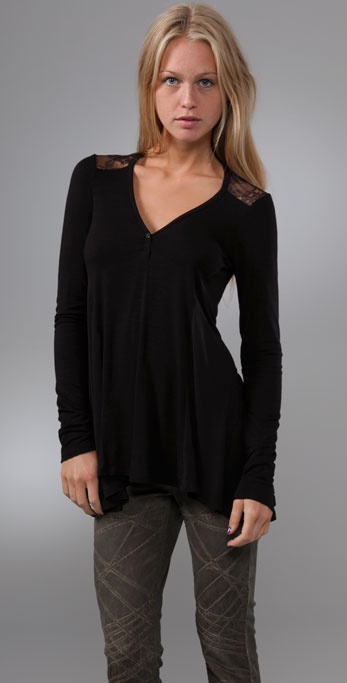 Ella Moss Chastity Draped Top