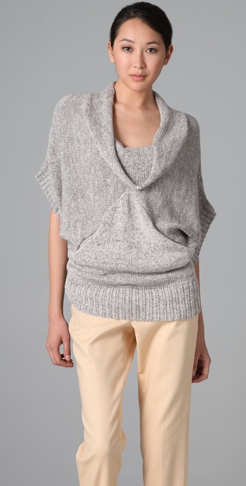 Ella Moss Greenwich Cowl Sweater