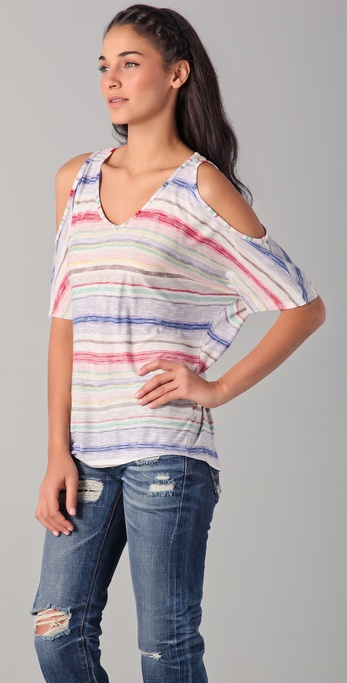 Ella Moss Serape Stripe Top