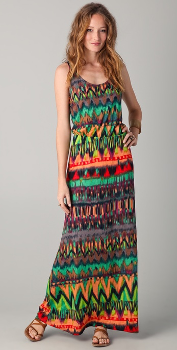 Ella Moss Ikat Maxi Dress