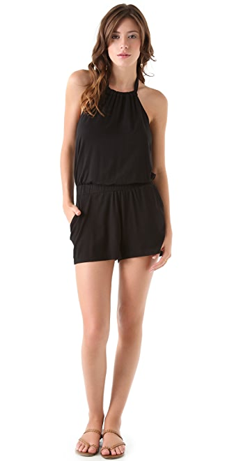Ella Moss Girl's Best Friend Romper