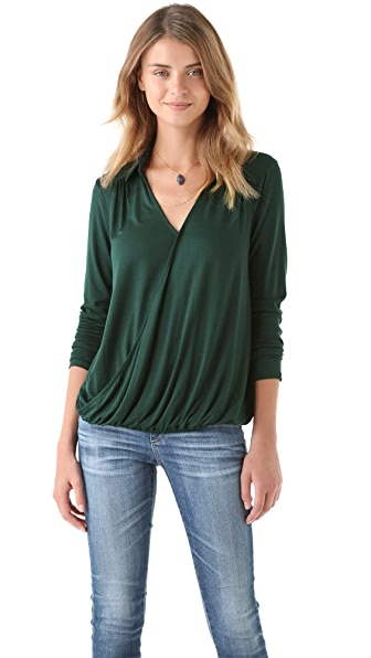 Ella Moss Bella V Neck Top