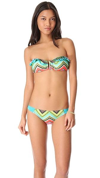Ella Moss Caravan Bandeau Bikini Top