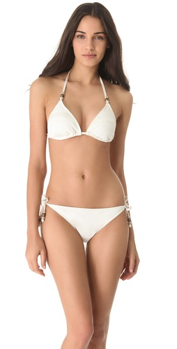 Ella Moss Reflection Triangle Bikini Top