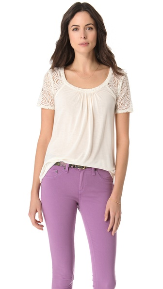 Ella Moss Hannah Short Sleeve Top