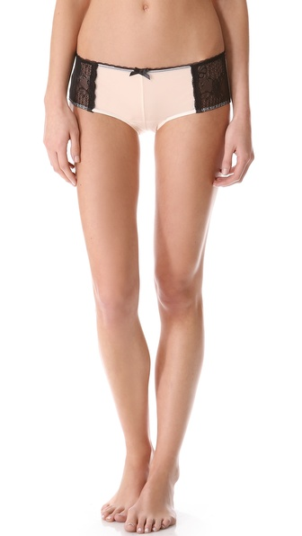 Ella Moss Luxe Lace Cheeky Boy Shorts