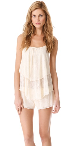 Ella Moss Luxe Lace Layered Camisole