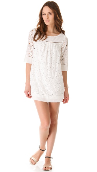 Ella Moss Heidi Eyelet Dress