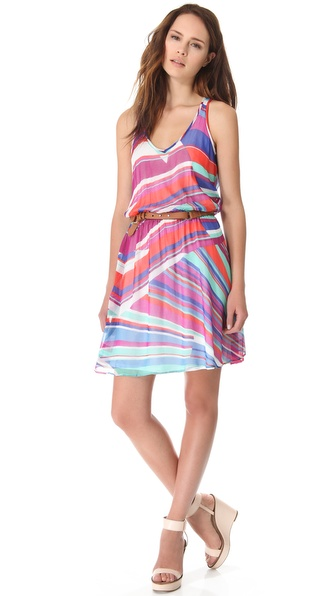 Ella Moss Kaleidoscope Tile Sleeveless Dress