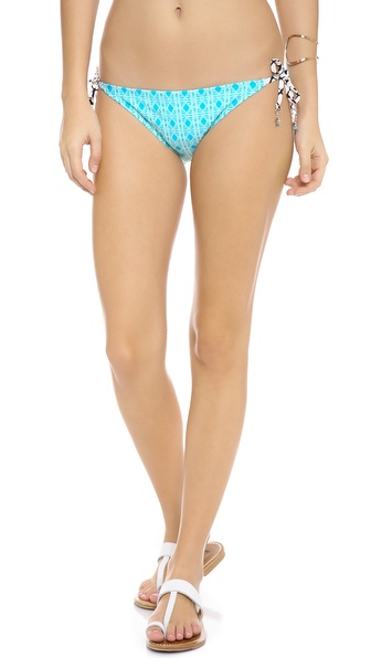 Ella Moss Sun Stream Tie Side Bikini Bottoms