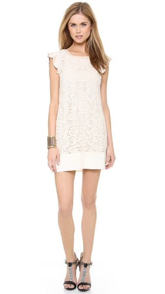 Ella Moss Jaimie Lace Dress - Natural