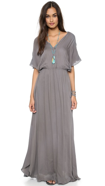 Ella Moss Stella Maxi Dress - Dove