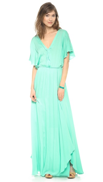 Ella Moss Stella Maxi Dress - Honeydew