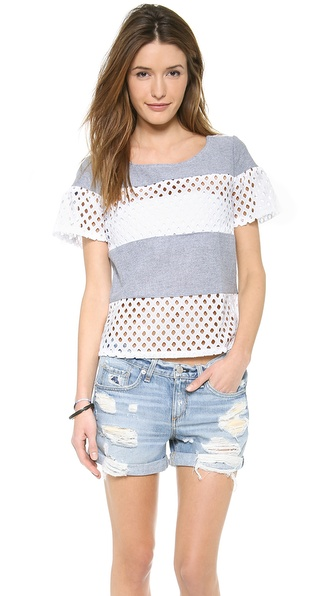 Ella Moss Tessa Tee - Chambray at Shopbop / East Dane