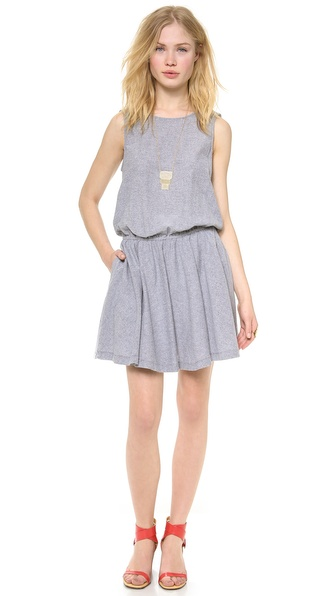 Ella Moss Tessa Dress - Chambray at Shopbop / East Dane