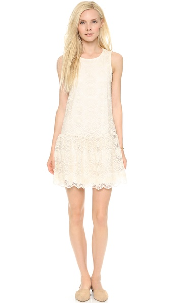 Ella Moss Hanalei Mini Dress - Natural
