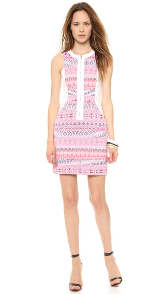 Ella Moss Paz Mini Dress - Raspberry