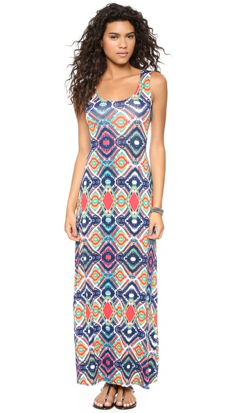 Ella Moss Totem Maxi Dress - Sunset