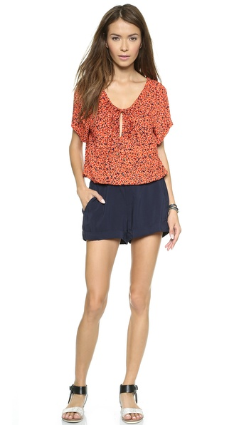 Ella Moss Poppy Fields Romper