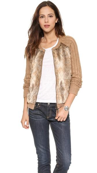 Ella Moss Vannah Sweater - Camel