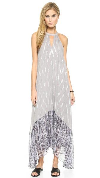 Shop Ella Moss online and buy Ella Moss Renaissance Maxi Dress Silver/Ink online