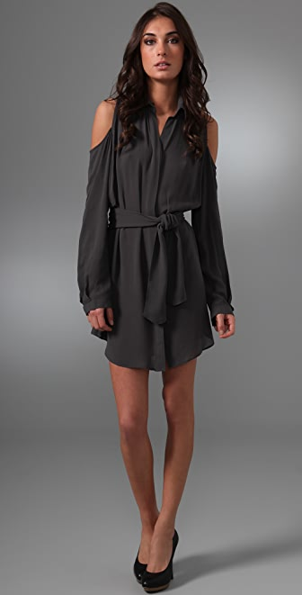 Ellery Vir-bra Shirtdress