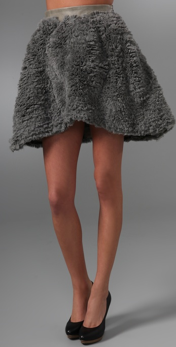 Ellery Versatile Ruffled Shade Skirt
