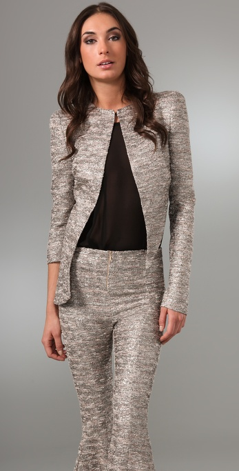 Ellery Ari-us Jacket with Asymmetrical Sleeves