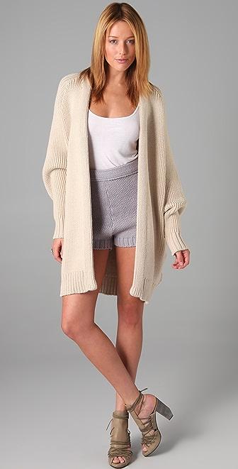 Ellery Sherman Pod Knit Coat