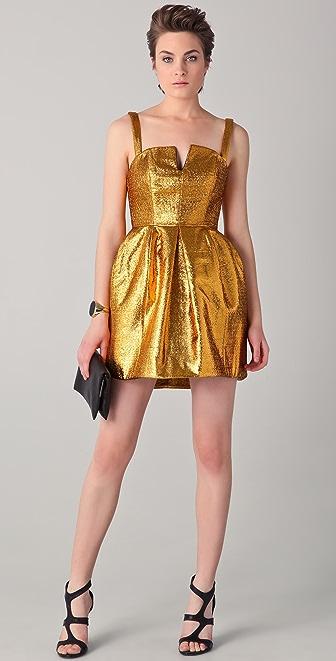 Ellery Hieroglyphic V Front Dress