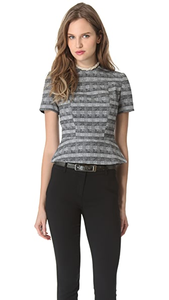 Ellery Plaited Shell Top
