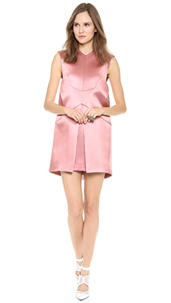Ellery Quartz Pleated Shift Dress
