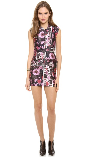 Ellery Paneled Boxy Shift Dress