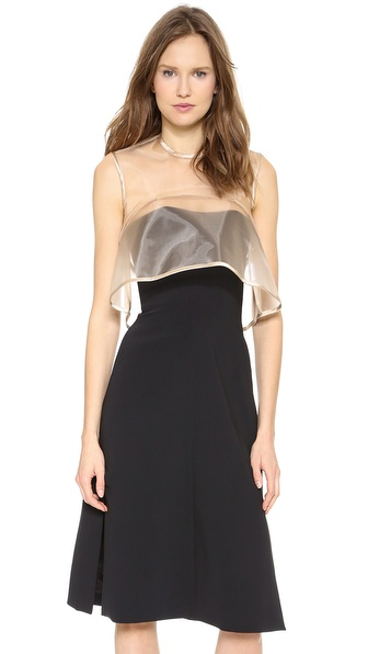Ellery Boxy Crop Top