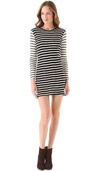 Edith A. Miller Crewneck Long Sleeve Mini Dress