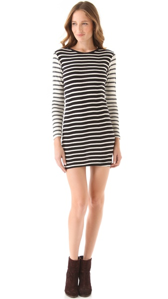 Edith A. Miller Crewneck Long Sleeve Mini Dress