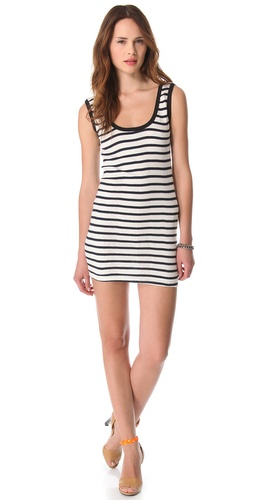 Edith A. Miller Double Scoop Mini Dress