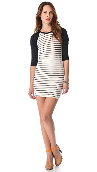 Edith A. Miller Baseball Mini Dress