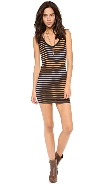 Edith A. Miller Double Scoop Tank Mini Dress