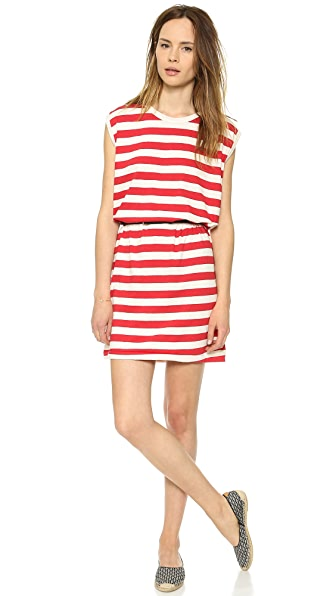 Edith A. Miller Boyfriend Sleeveless Mini Dress