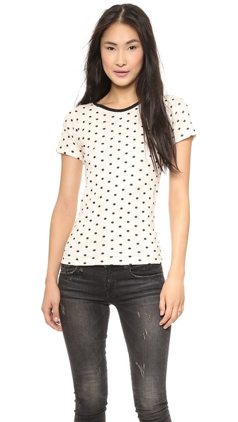 Edith A. Miller Short Sleeve Crew Neck Tee