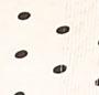 Natural/Black Polka Dot