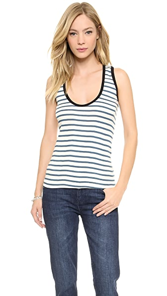 Edith A. Miller Scoop Neck Tank