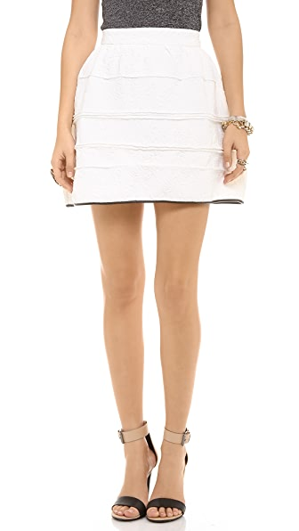 endless rose Embossed Mini Skirt