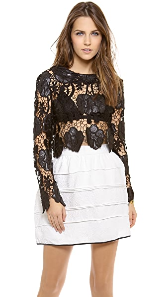 endless rose Lace Blouse