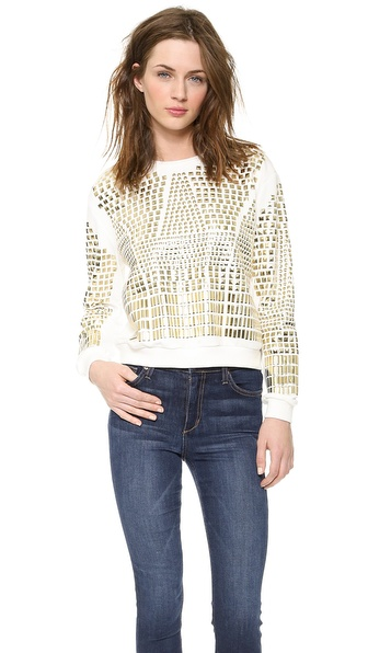 endless rose Embellished Sweatshirt