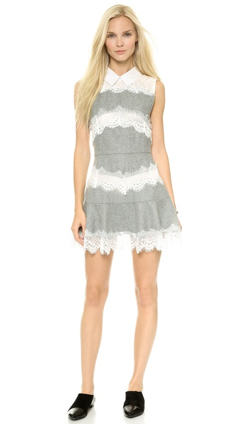endless rose Lace Embroidered Dress